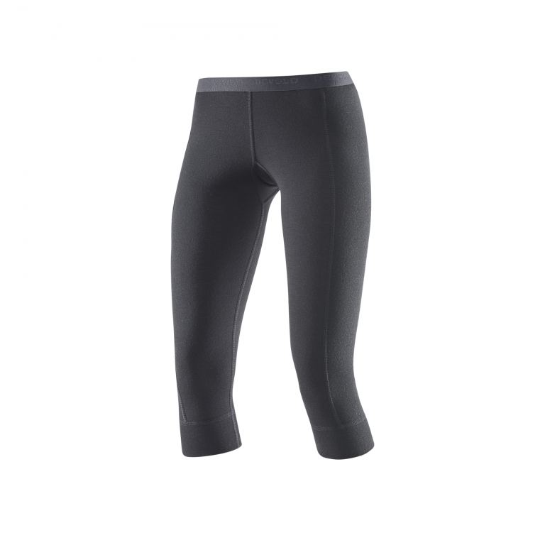 Devold HIKING W 3/4 LONG JOHNS blk
