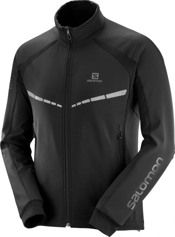 Salomon RS WARM SOFTSHELL JKT M-Black
