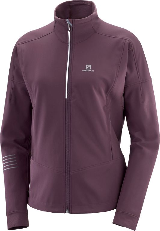 Salomon LIGHTNING WARM SSHELL JKT-winetanting