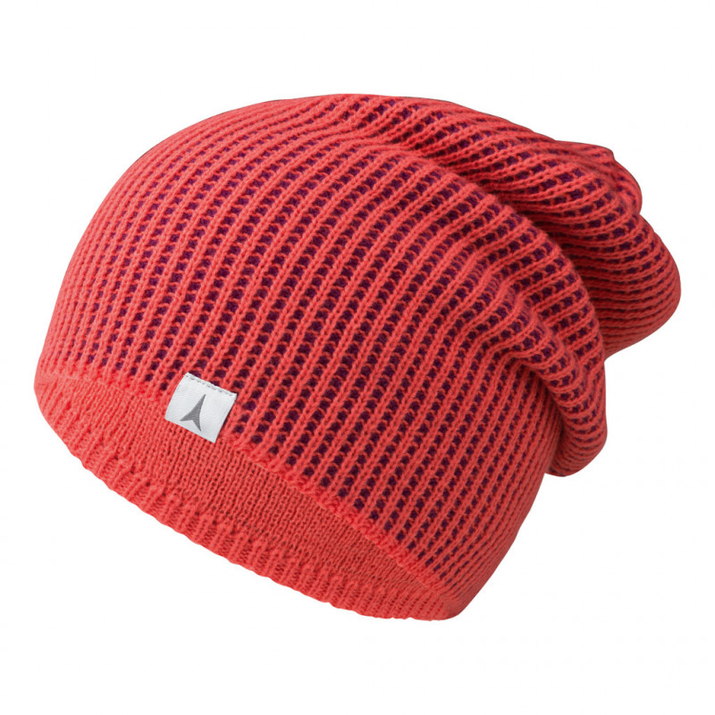 Atomic W AMT SLOUCH BEANIE coral