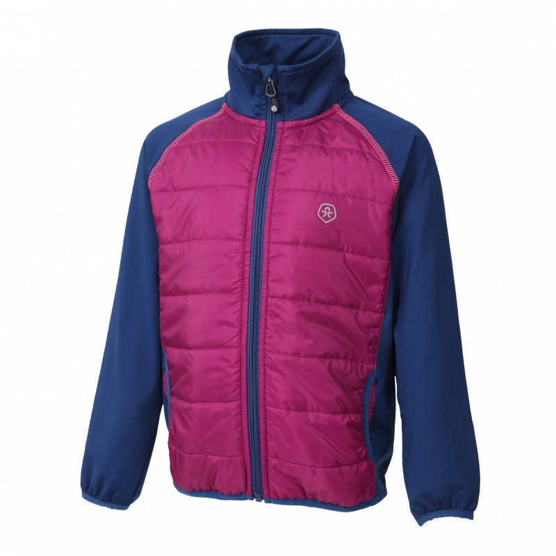 Colorkids NORSE HYBRID JACKET Berry
