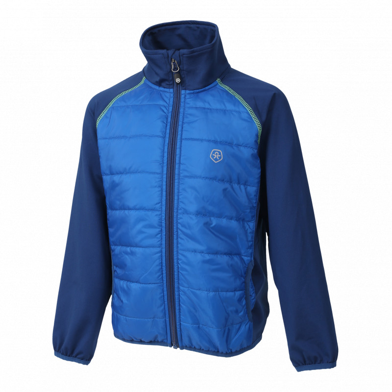 Colorkids NORSE HYBRID JACKET Blue Sea