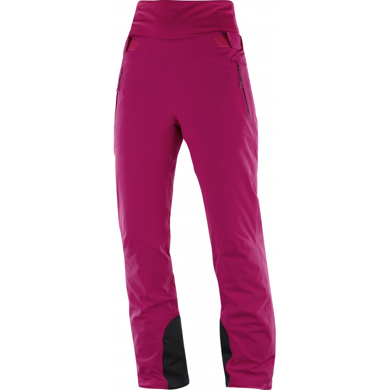 Salomon CATCH ME PANT W Cerise