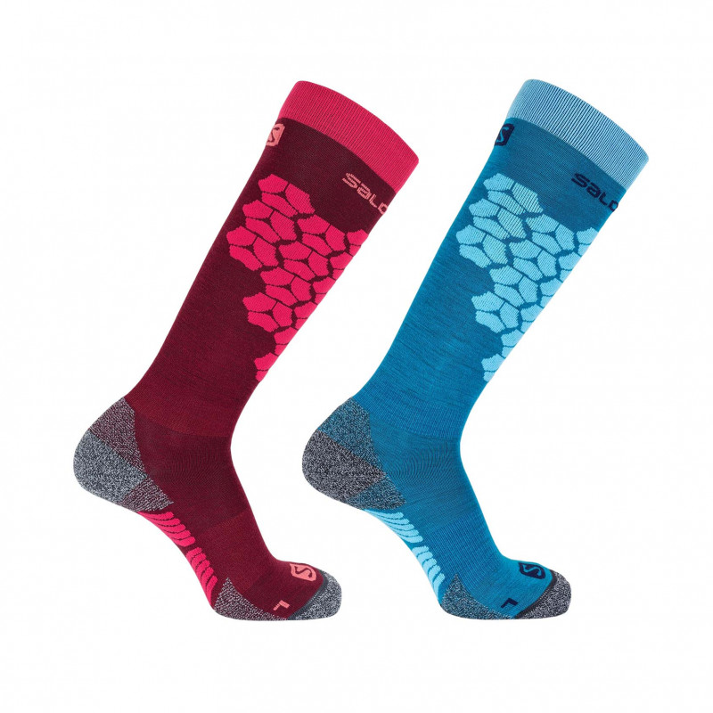 Salomon S/ACCESS 2-PACK Beet R/Enamel Bl