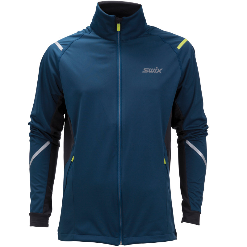Swix CROSS jacket M blue