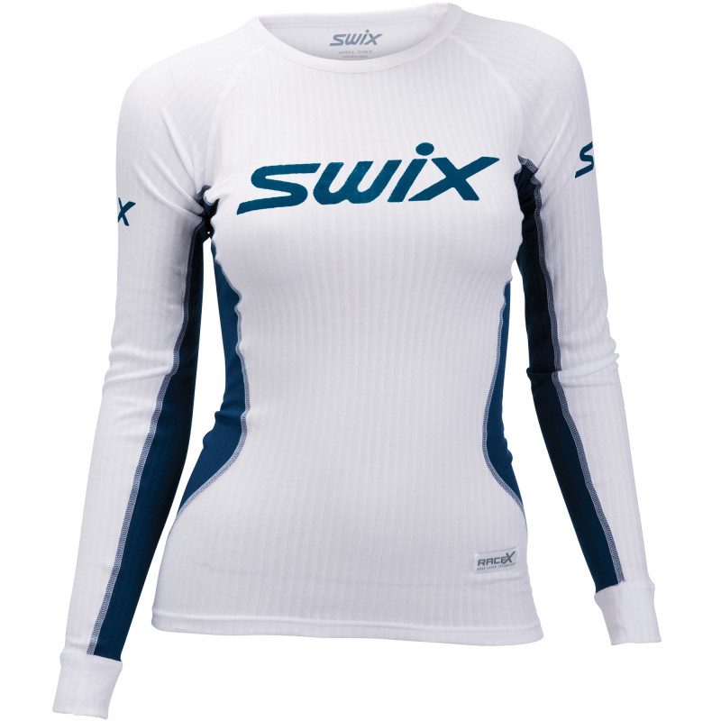 Swix RACE X LS W white